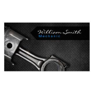 Mechanic business card tarjetas de negocios