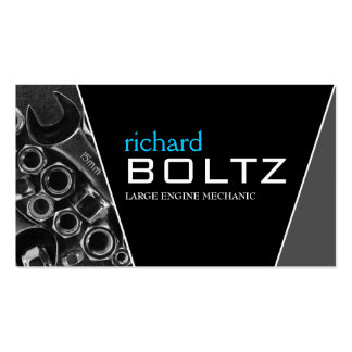 Mechanic - Business Cards