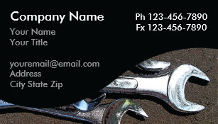 Mechanic business cards templates zazzle mechanic business cards colourmoves