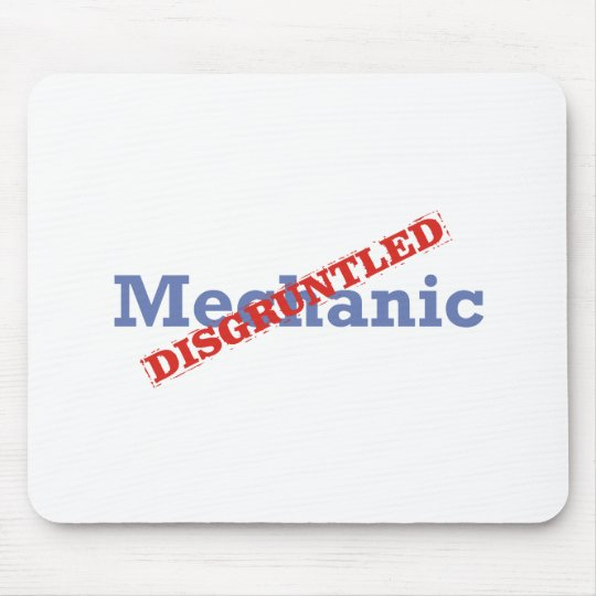 Mechanic / Disgruntled Mouse Pad