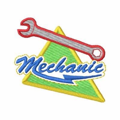 Mechanic Embroidered Hoody
