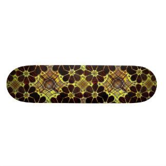 Mechanic Floral Composition Skateboard Deck