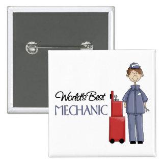 Mechanic Gift Pinback Button