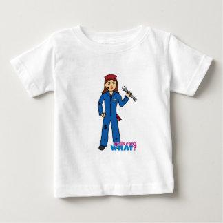 Mechanic Girl Baby T-Shirt