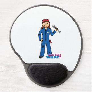 Mechanic Girl Gel Mouse Pad