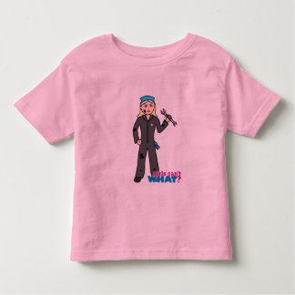 Mechanic Girl - Light/Blonde Toddler T-shirt