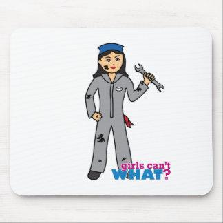 Mechanic Girl - Medium Mouse Pad