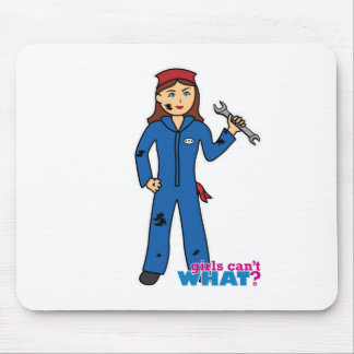 Mechanic Girl Mouse Pad