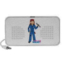 Mechanic Girl Portable Speakers