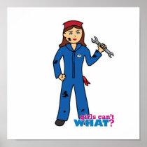 Mechanic Girl Posters