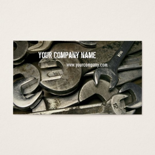 mechanic / handyman business card