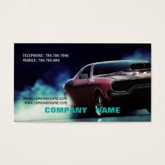 Mechanic Light Car Road Street Race Speed Business Card