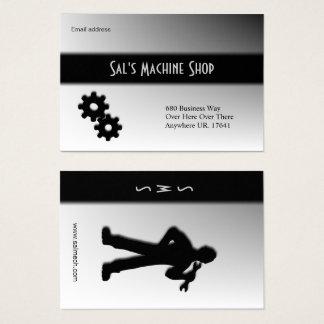 Mechanic / Machine  Business Card