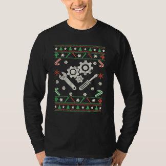 Mechanic - Merry Christmas T-Shirt