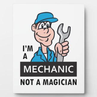 MECHANIC NOT A MAGICIAN PLAQUES