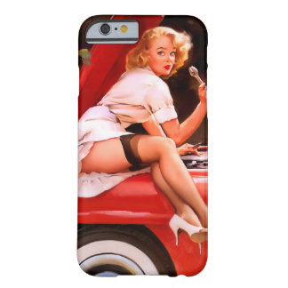 Mechanic Pin Up iPhone 6 Case