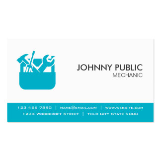 Mechanic - Professional Cards - Any Color Double-Sided Standard Business Cards (Pack Of 100)