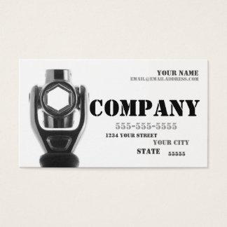 Mechanic & Repair Socket Wrench Business Card