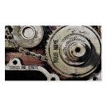 mechanic repairs business card template