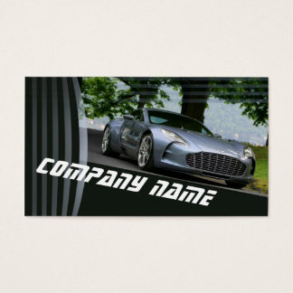 Mechanic Retro Car Rent Transport Modern Business Card