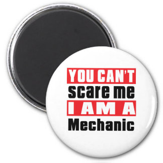 Mechanic scare designs 2 inch round magnet