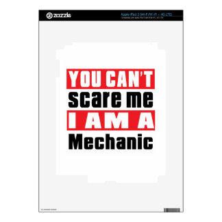 Mechanic scare designs iPad 3 skin