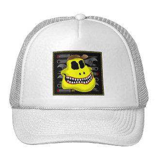 MECHANIC SKULL 1 TRUCKER HAT