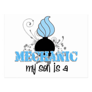 Mechanic Son Postcard