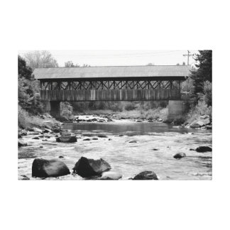 Mechanic Street Bridge Canvas Print