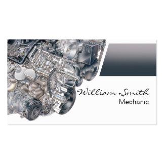 Mechanic Plantillas De Tarjetas De Visita