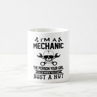 Mechanic - The Person Your Girl Calls! Coffee Mug