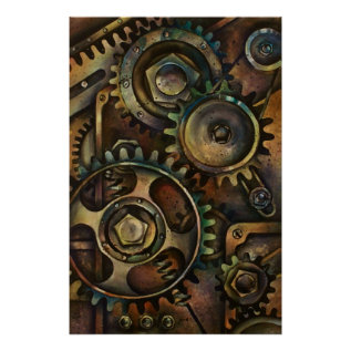 Mechanical 1 Poster at Zazzle