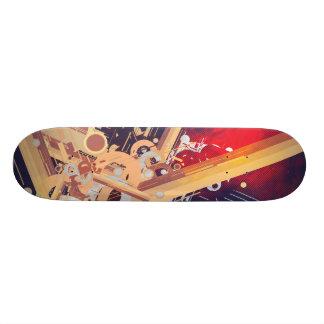 Mechanical Abstract Skate Deck