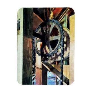 Mechanical Advantage Rectangular Photo Magnet