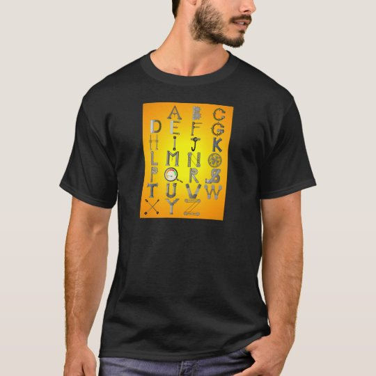 MECHANICAL ALPHABET T-Shirt