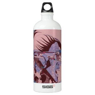 Mechanical Aluminum Water Bottle