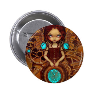 """Mechanical Angel I"" Button"