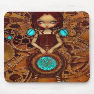 Mechanical Angel I steampunk fairy Mousepad