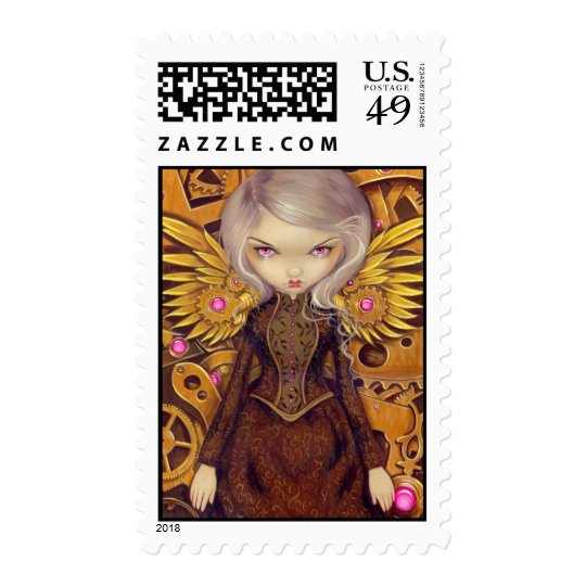 """Mechanical Angel II"" Stamp"