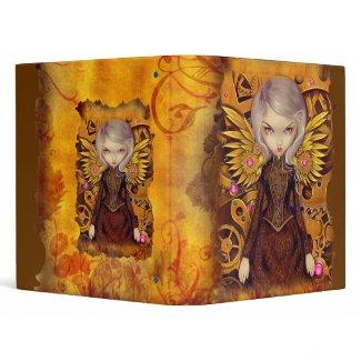 Mechanical Angel II - Steampunk Fairy Binder binder
