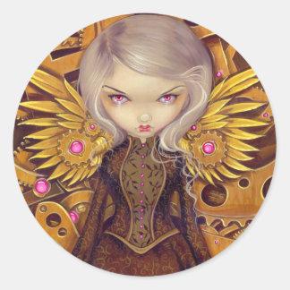 """Mechanical Angel II"" Sticker"