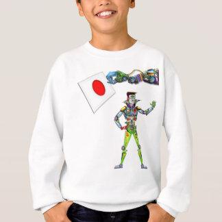 Mechanical Arm Flag of Japan Sweatshirt