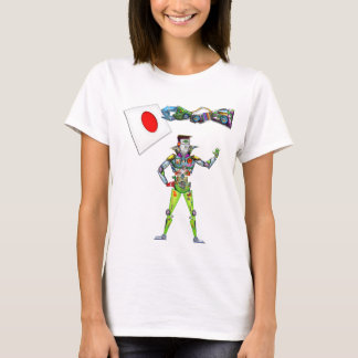 Mechanical Arm Flag of Japan T-Shirt
