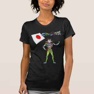 Mechanical Arm Flag of Japan T-Shirt