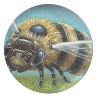 Mechanical Bee: Lift-off Plate