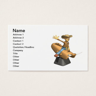 Mechanical Bull Business Card