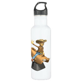 Mechanical Bull Water Bottle
