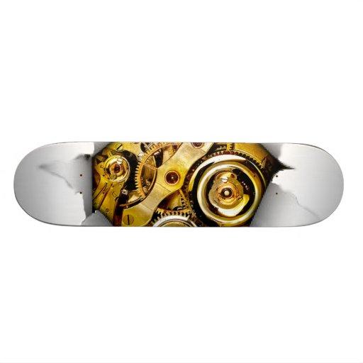 Mechanical Burst Skateboard