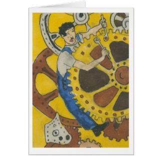 Mechanical Challenge by Kathy Faggella Card