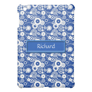 Mechanical circles pattern iPad mini cover